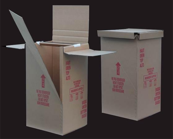 Pack service scatole speciali porta abiti in cartone a - Scatole porta abiti ...